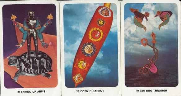 """dakini oracle """"cosmic carrot"""""""