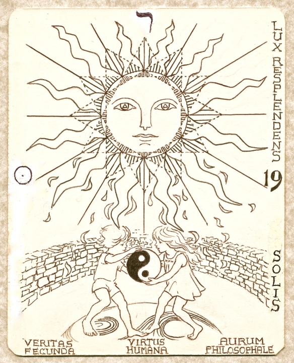 Tarot Arcanum 19 - Children of the Sun