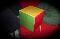 home made latin cross cube