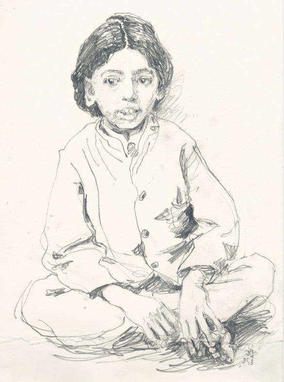 K at five years old