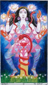 Sacred India Tarot world Shakti, 21