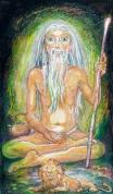 Sage in cave SITA 9