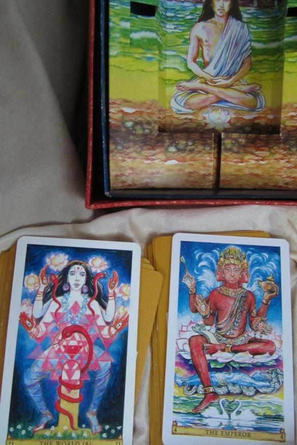Sacred India Tarot - Babaji, Shakti, Brahma