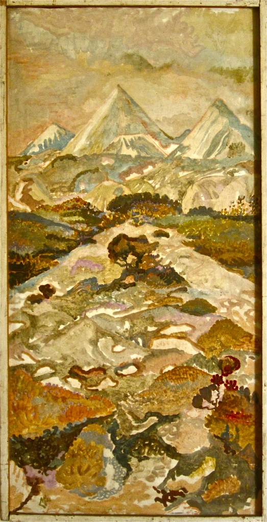 Cornish china-clay-tips near St Austell by Lionel Miskin