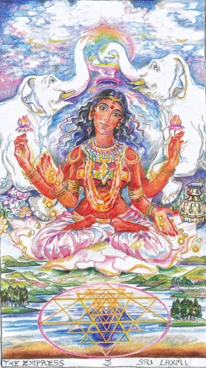 Sacred India Tarot 3 Empress