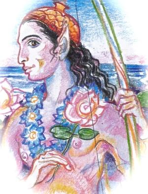 sacred india tarot Kama