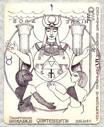 5 hierophant - Version 2