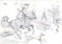 gallant jason on horse