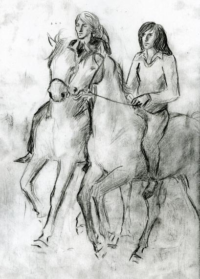 horse friends, 1964