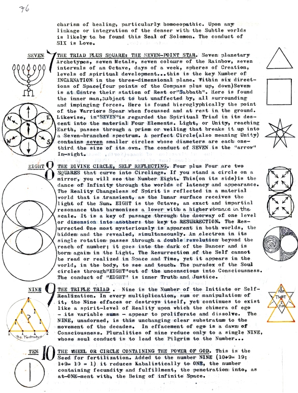 Numerology 7-10