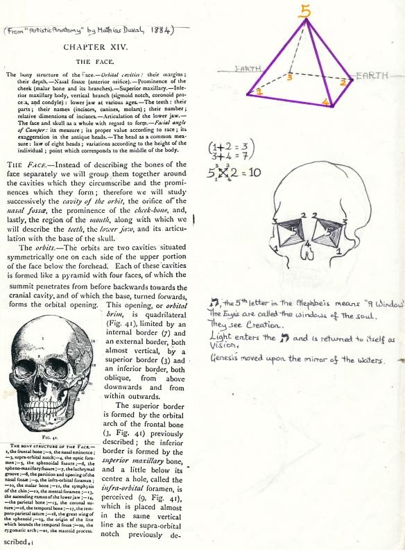 skull eyes pyramid