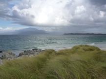 somewhere near Rhum and Eigg and Muck - probably Tyreee