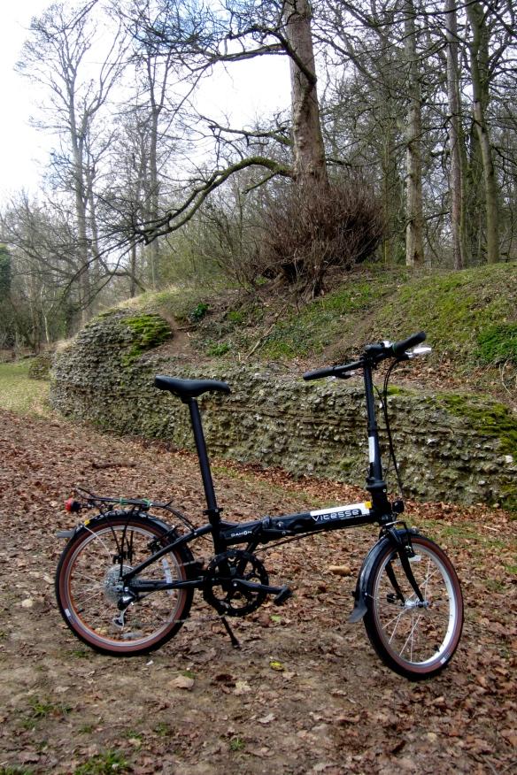 Bike last spring, near St Albans