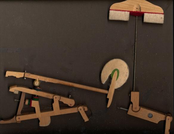 Piano action pieces