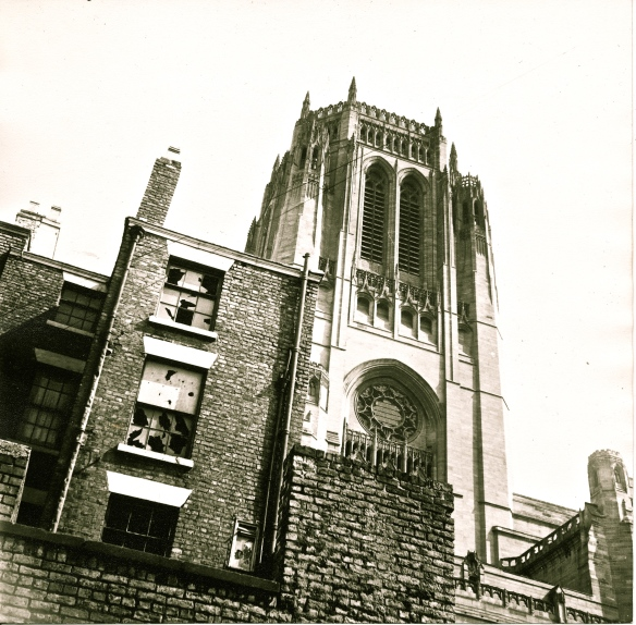 Liverpool 8 - Cathedral & Hope Street 1968