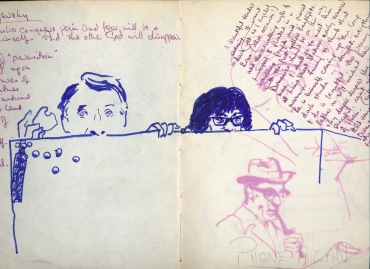 21 liverpool sketches 1968 4 - students