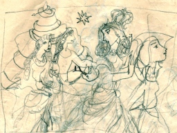 2i snake and women in the garden of hesperides