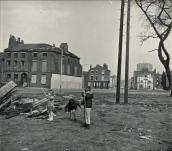 Liverpool 8 was not yet rebuilt from the war - vast open space