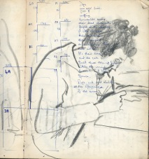 42 liverpool sketches 1968 4 - my friend Angela