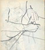 44 liverpool sketches 1968 4 - at work