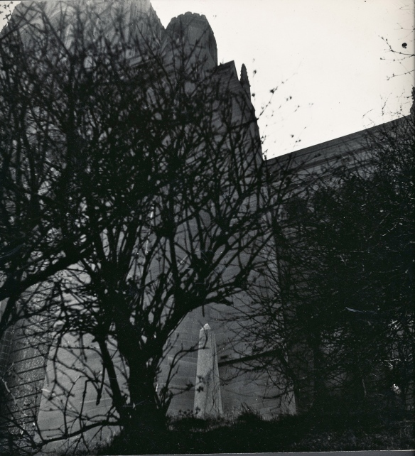 cathedral & small monument