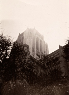 58 liverpool photos 1968 4 - cathedral tower