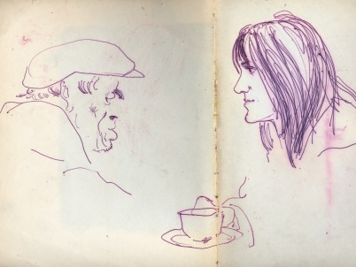 6 liverpool sketches 4 1968