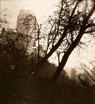 Liverpool Cathedral, from the trench