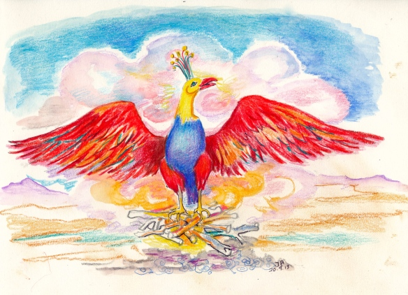 Phoenix, copied from Master R's Trinosofia