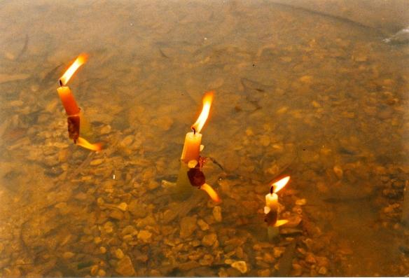 Pilgrims in the Ganga