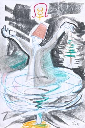 rahu 4 - turning dervish