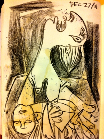 study for guernica