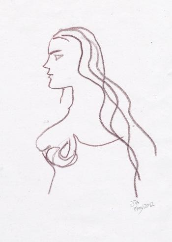 woman in cornwall