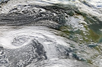 weather patterns from satellite