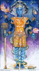 Sacred India Tarot 1 - Vishnu