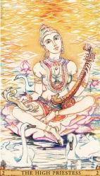 Sacred India Tarot 2 - Saraswathi