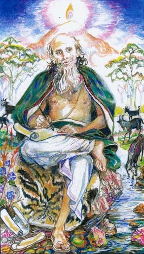 Sacred India Tarot 5 - Manu