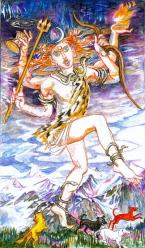 Sacred India Tarot Rudra 2