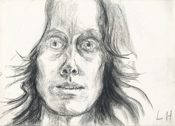 Self in 1988, drawn with left hand