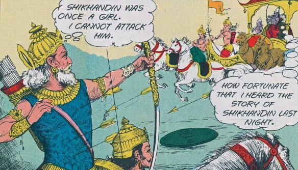 SITA 9 of arrows. visual reference from comic book