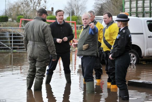 somerset floods, daily mail