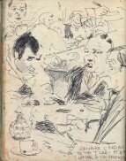41 liverpool sketches 6, 1969, Tubbs Caff