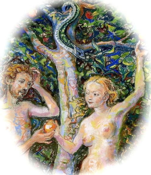 Adam & Eve detail
