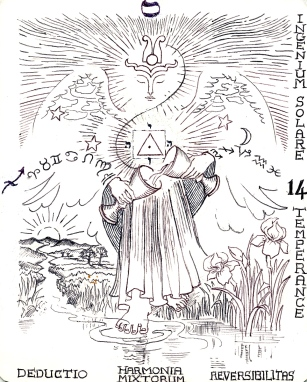 archangel Mahael - Tarot 14, temperance