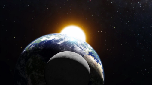 Earth between moon and sun:  eclipse period 15 -29 April 10§4