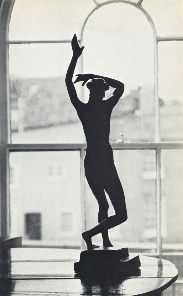 Gaudier's Dancer - in 'A Way of Life' by Jim Ede