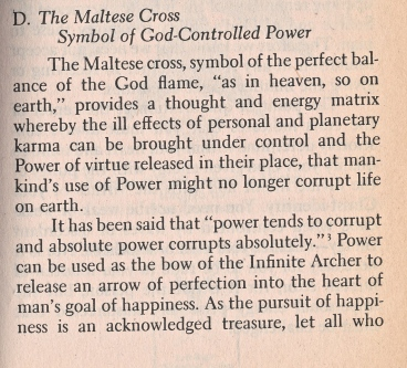 malta grand cross, esoteric meanings 1