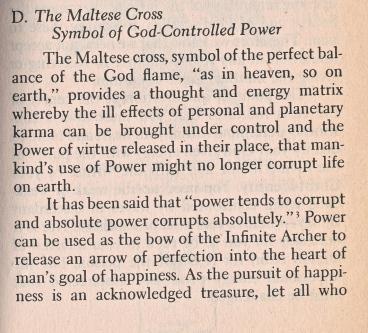 malta grand cross, esoteric meanings 1