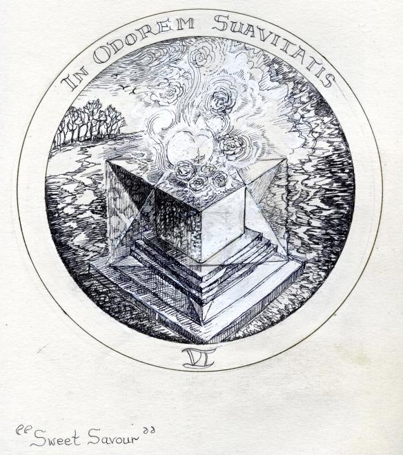 Solomon's Cube, rosicrucean Emblem 6