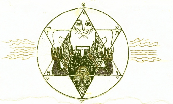 pentacle, after E.Levi